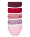 NEW! Rogue Berry Comfort Cotton Packaging Panties Midi