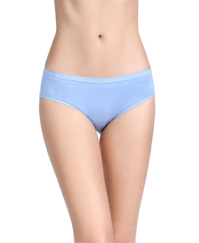 NEW! Spring Blues Comfort Cotton Packaging Panties Midi