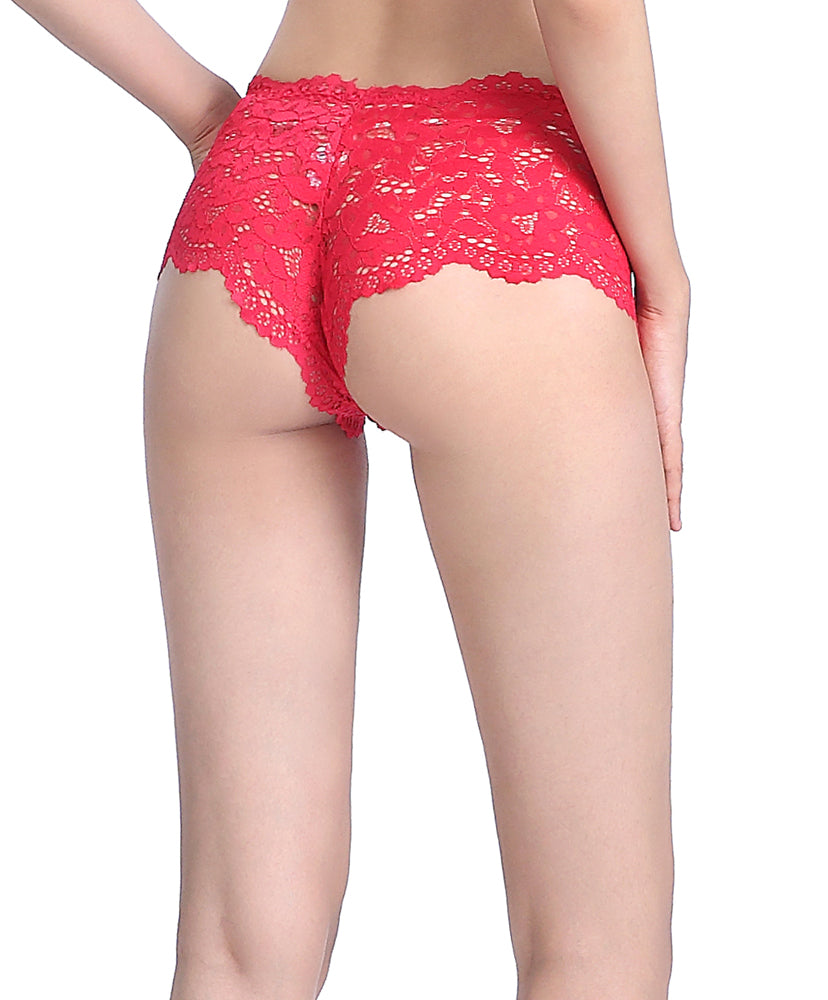 Bold Florals Boxshorts Panty  <br> <b> ***Buy 5 panties for $30. Must buy at least 5 for discount.</b>