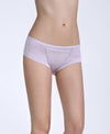 Abstract Microfibre & Lace Boxshorts Panty <br> <b>30% off</b>
