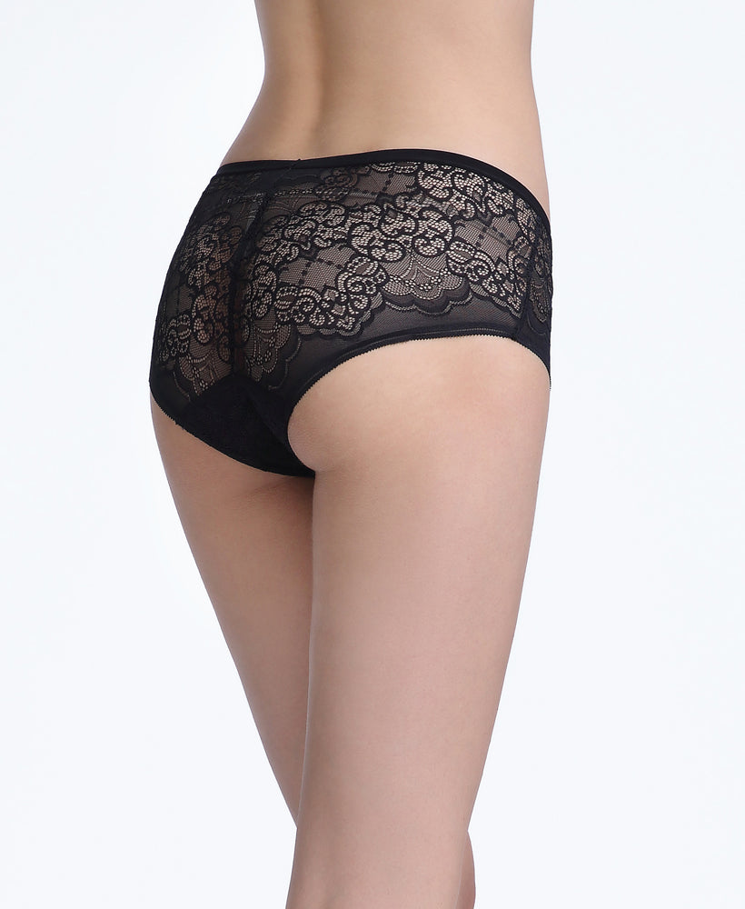 Just Lace Boxshorts Panty  <br> <b> ***Buy 5 panties for $30. Must buy at least 5 for discount.</b>
