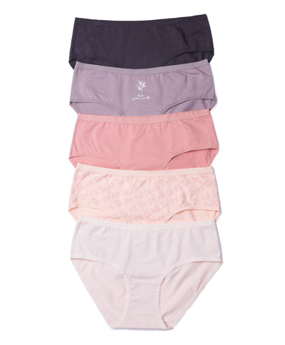 Delicate Comfort Cotton Packaging Panties - Boxshorts Panty