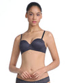 Lace Remix Half Cup Bra <br> <b> ***Buy 3 bras for $40. Must buy at least 3 for discount.</b>
