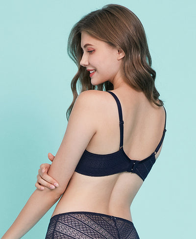 NEW! Minimalist Romance Lace Wireless Bra