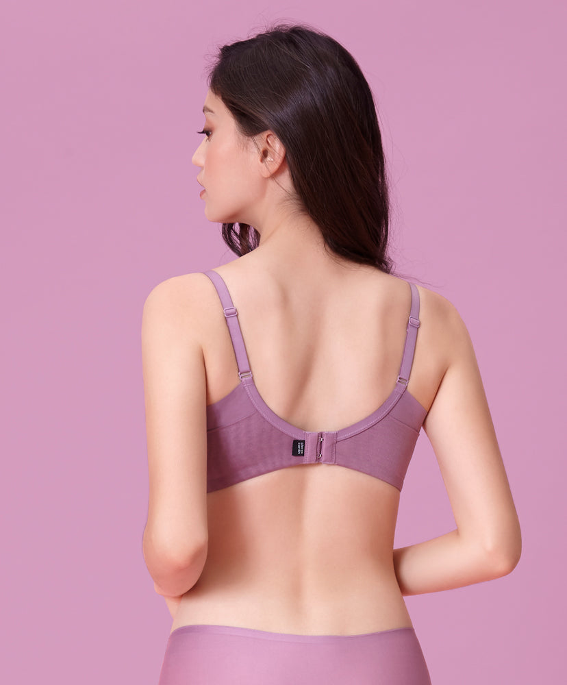 NEW! Seam Free Coverage Lightly Padded Demi Bra