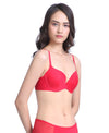 Multicolour Lightly Padded Demi Bra<br><b> Buy 3 get 1 free, Buy 5 get 2 free </b>