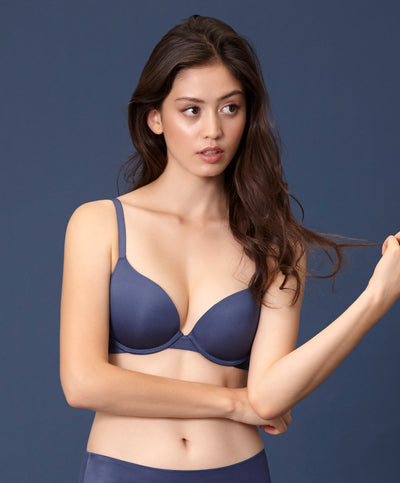 "Soft & Light Padded Demi Bra <br><font size=""3"" color=""#F08080"">30% off</font>"