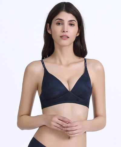 Abstract Lightly Padded Bralette