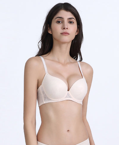 Abstract Padded Demi Bra