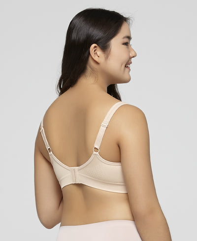 "Seamless Full Coverage Wireless Bra <br><font size=""3"" color=""#F08080"">2nd pcs at 50% off</font>"