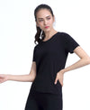 Freedom Seamless Tee Black