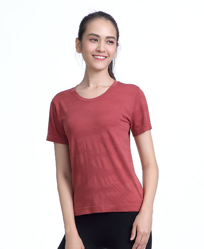 Freedom Seamless Tee Brown