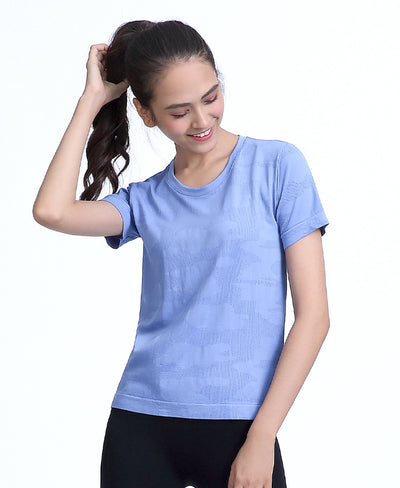 Freedom Seamless Tee Light Blue