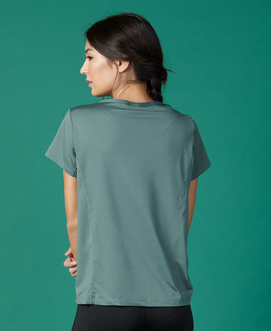 V-Neck Casual Sports Tee