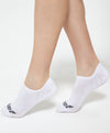 Energized No Show White Socks <br> <b>***Buy 4 socks for $5. Must buy at least 4 for discount.</b>