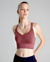 So Fly Wireless Sports Bra Dark Pink