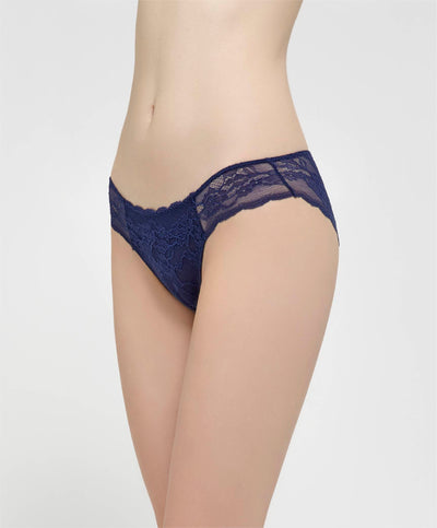 Cotton Daisies Lace Mini Panty