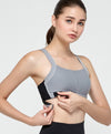 Energized Luxe Crop Plus Sports Bra<br><b>Buy 2 get 1, Buy 3 get 2 free</b>