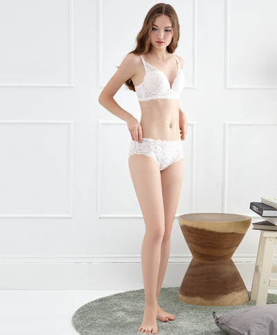 "Prairie Dance Full Lace Boxshorts Panty<br><font size=""3"" color=""#F08080"">***Buy 5 panties for $30. Must checkout at least 5 for discount.</font>"