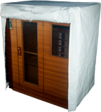 Outdoor l Indoor l Thermal Sauna Cover door flap open