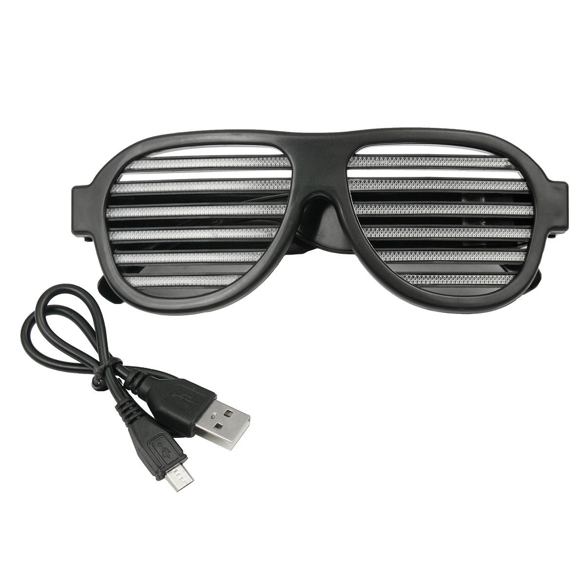 LED Sound Control Glasses