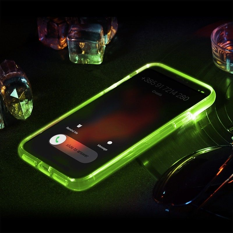 LED Flashlight IPhone X Case