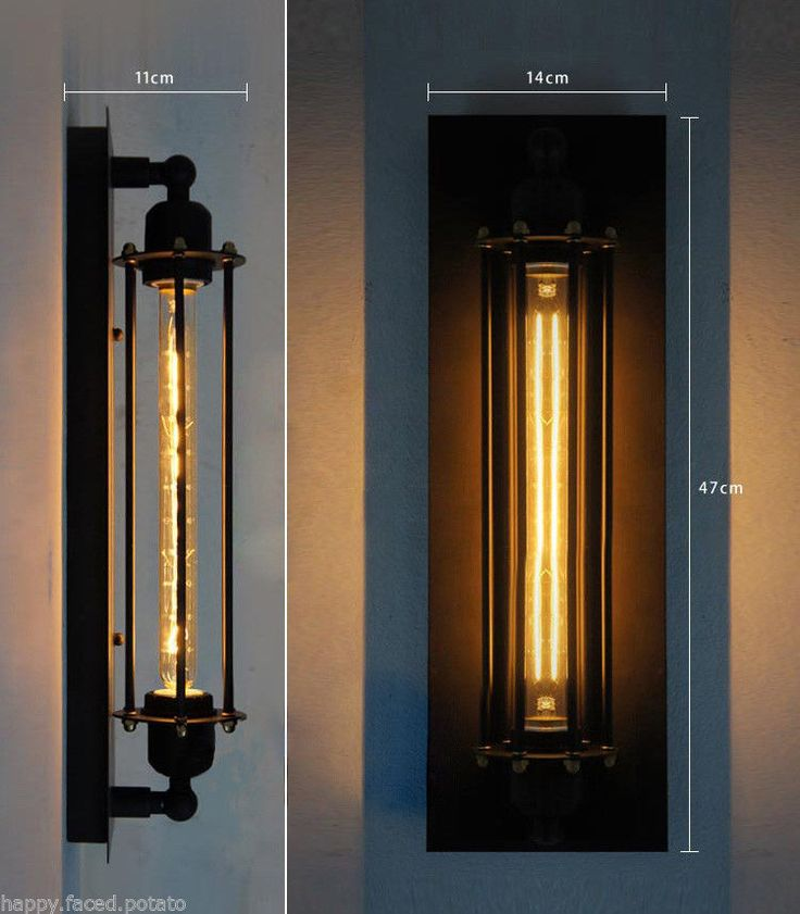Vintage Industrial Edison Retro Wall Lamp