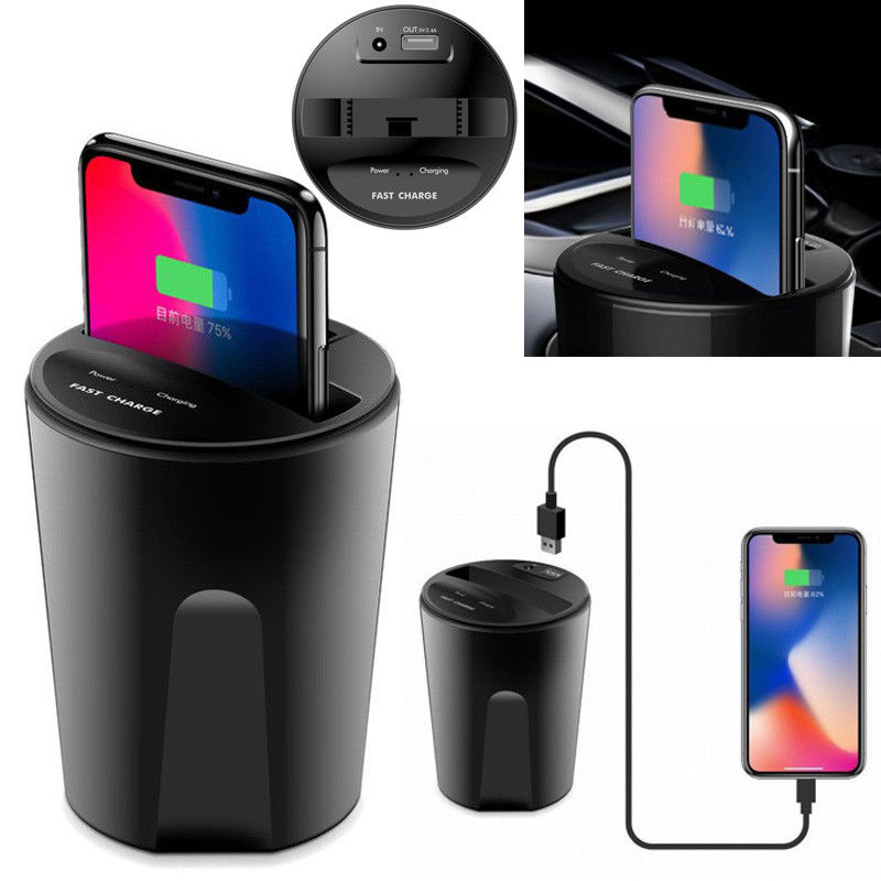 Automotive Wireless Cup Charger