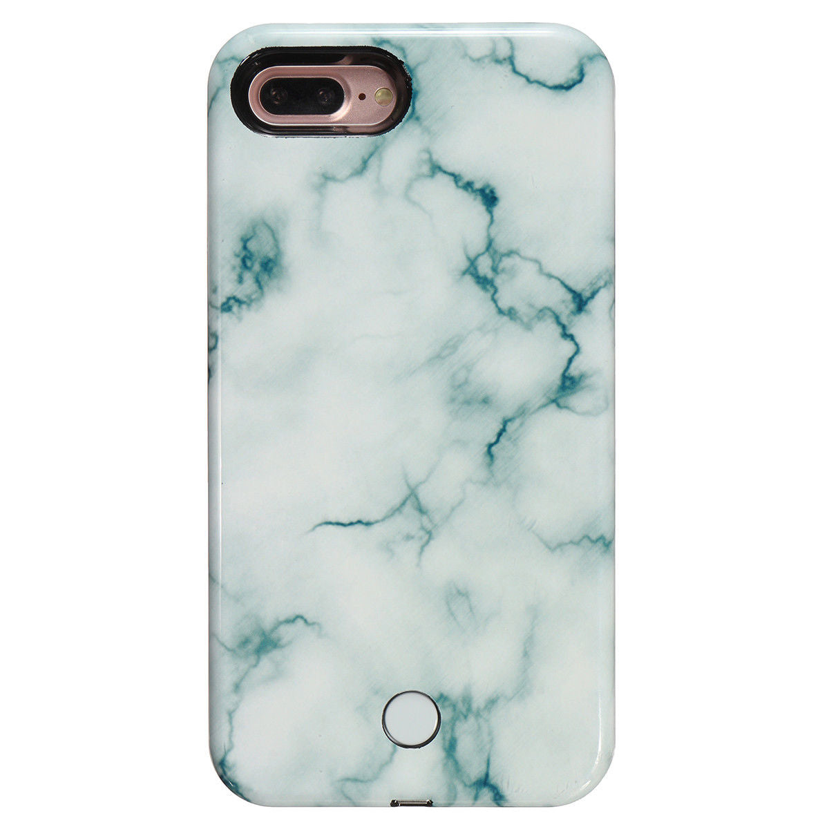 LED 3D Marble Iphone Case