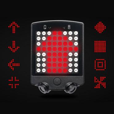 LED Cycling Warning Light