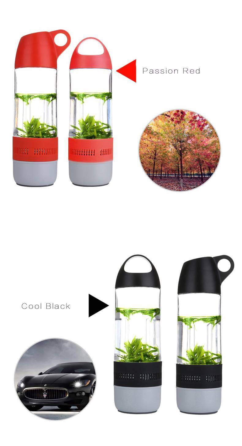 Water Bottle  Bluetooth Speaker
