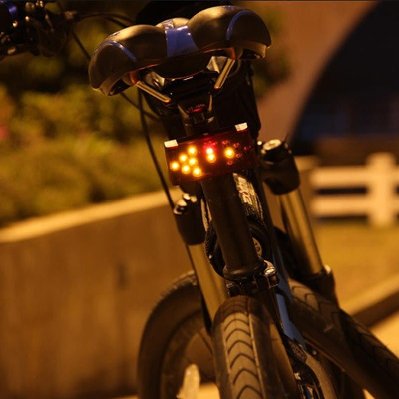 LED Bicycle Warning Light
