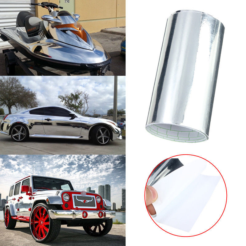 Automotive Chrome Wrap