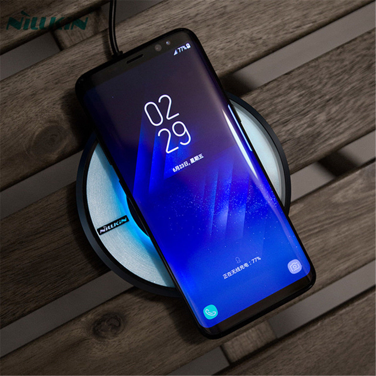 LED Wireless Phone Charger