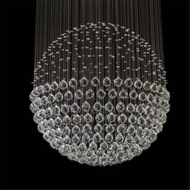 LED Waterfall Chandelier