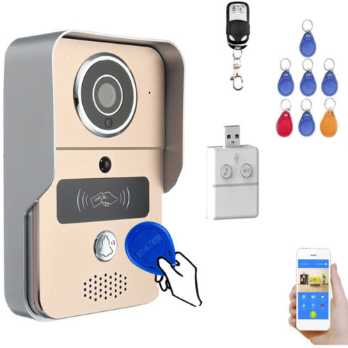 WIFI Wireless Smart Remote Doorbell Video Door Phone IR Security Camera
