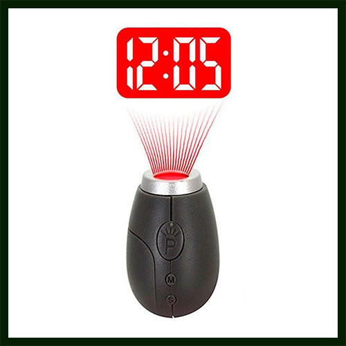 Digital LED Projection Clock