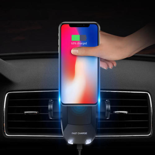 LED Phone Wireless Car Charger