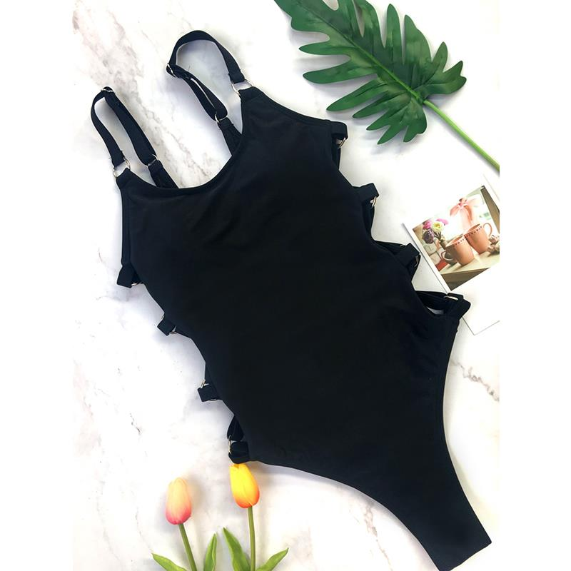 Party Club Bodysuit Overall Swimsuit