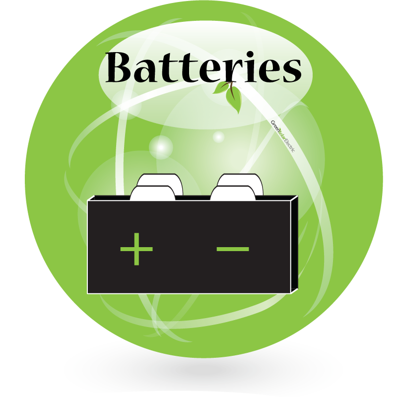 Batteries collection, Green Solar Electric