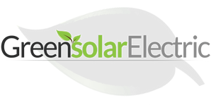 Green Solar Electric, leaf logo
