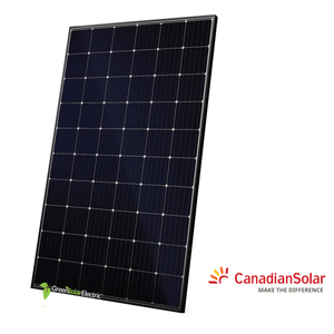 Canadian Solar, Mono, Solar Panel, Green Solar Electric.