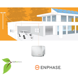Enphase, AC Battery, 1.2kW, Lithium Iron Phosphate, IQ6