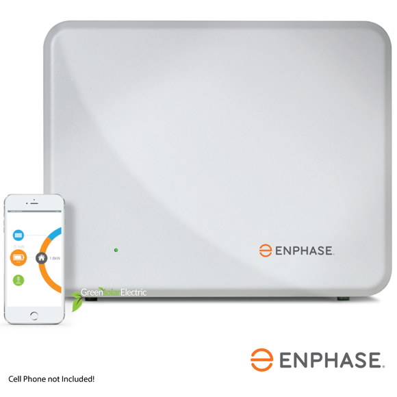 Enphase, AC Battery, 1.2kW, Lithium Iron Phosphate
