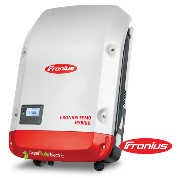 Fronius Symo, Hybrid Inverter, Off Grid Inverter, Battery Inverter, Green Solar Electric, Symo Hybrid.