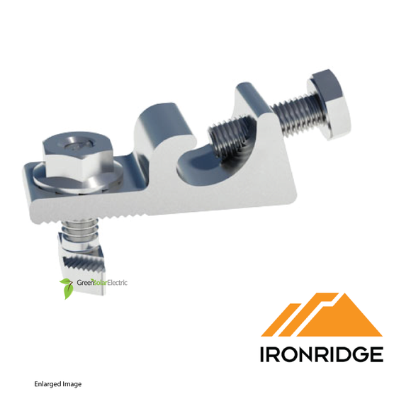 IronRidge, Grounding Lug, UFO Series, Low Profile, 1/4 T bolt, LUG-003