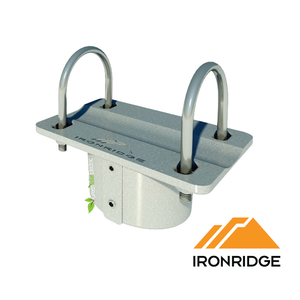 "IronRidge SGA Top Cap for 2"" pipe, 70-0200-SGA, IronRidge, SGA Top Cap, for 3"" pipe, 70-0300-SGA, Racking."