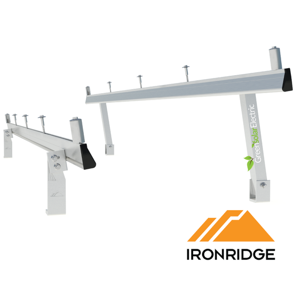 IronRidge, Tilt Leg Kit, Solar Racking, Fixed Tilt Leg Kit,