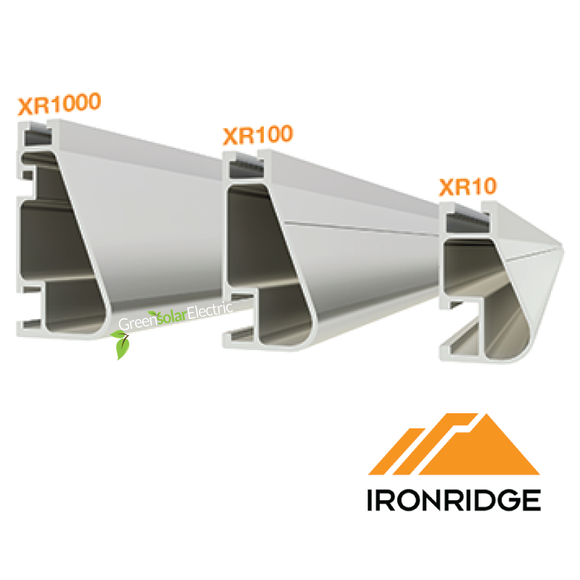 IronRidge, Racking, Rails, Aluminum,