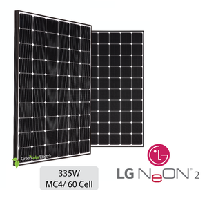 LG, Neon 2, Solar Panels, Green Solar Electric.